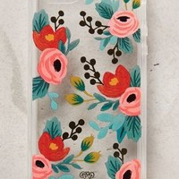Lucere Floral iPhone 5 Case by Rifle Paper Co. Clear One Size Tech Essentials