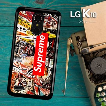 Supreme To Release Collection Featuring Basquiats V1635 LG K10 2017 / LG K20 Plus / LG Harmony Case