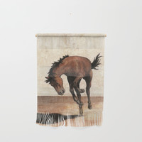 Wild horse Wall Hanging by savousepate