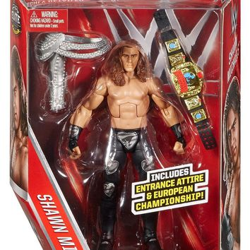 WWE Shawn Michaels Action Figure Elite Series Mattel Toy NEW IN STOCK