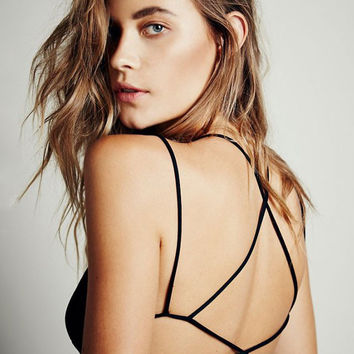 Strappy Back Crisscross Bra