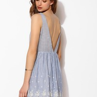 Lucca Couture Eyelet Stripe Dress - Urban Outfitters