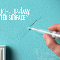 Paint Retouching Pens: Touch-up your walls quickly and easily