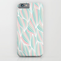Cool Colorful Ocean Waves iPhone & iPod Case by Smyrna