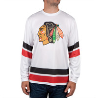 Chicago Blackhawks - Logo Authentic Scrimmage Long Sleeve Jersey
