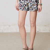 Buttoned & Blossomed Sailor Shorts