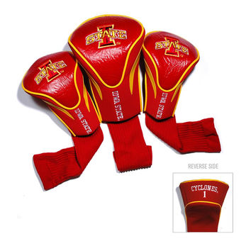 Iowa State Cyclones NCAA 3 Pack Contour Fit Headcover