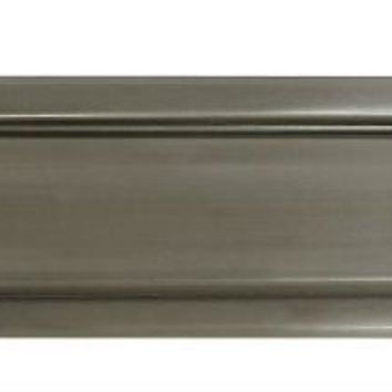 "National Hardware® N325-290 Solid Brass Mail Slot, 2"" x 11"", Satin Nickel"
