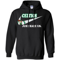 Boston Celtics T shirts Just Hate Us