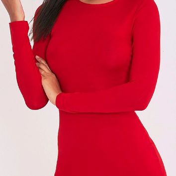Tempted Cut-Out Bodycon Dress
