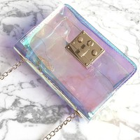 Transparent Game Day Cross Body Bag