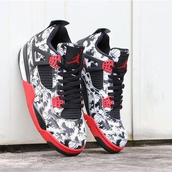 DCCK -Air Jordan 4 'Tattoo' BQ0897-006