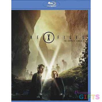 X-FILES-SEASON 4 (BLU-RAY/6 DISC)