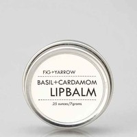 Fig + Yarrow Basil And Cardamom Lip Balm- Assorted One