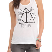 Harry Potter Deathly Hallows Girls Tank Top