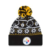Pittsburgh Steelers NFL Sweater Chill Knit Hat