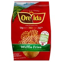Ore-Ida Waffle Fries French Fried Potatoes 22-oz.