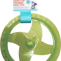 ASPCA Light-Up Frisbee Dog Toy [Green]
