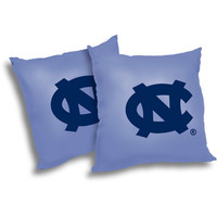 "Walmart: NCAA North Carolina Tarheels 18"" Pillow, 2-Pack"
