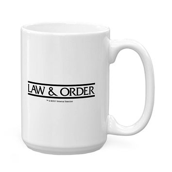 Law and Order - These Are Their Stories 16 Oz Coffee Mug
