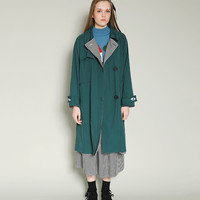 Tyakasha Optometry Reversible Trench Coat