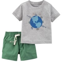 2-Piece Certified Organic Top & Short Set
