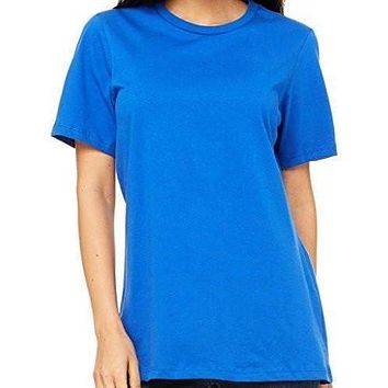 Womens Relaxed Fit Cotton Tee Shirt