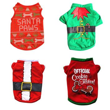 Christmas Cat Clothes Costume Clothes For Cats New Year Puppy Outfit Pet Cat Clothes For Chihuahua Winter Warm Pet Clothes 20 S1