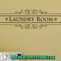 Laundry Room Wall Decal - C2283