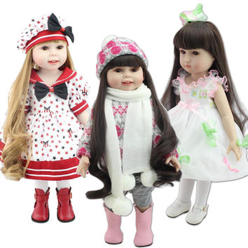 "Chose You Like Doll Clothes Fits 18"" American Girl Doll  Whole Outfit Clothes Bows Tights"