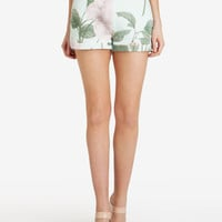 Distinguishing rose shorts - Mint | Skirts & Shorts | Ted Baker