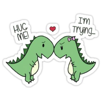 Hug Me! I'm Trying... Dinosaurs