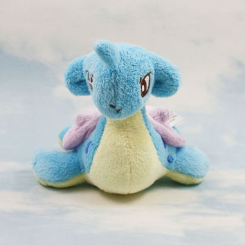 Lapras Plush Doll Toy Stuffed Dolls 12cm Anime doll Gifts for children Free Shipping