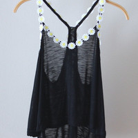 Daisy Crop Tank (MORE COLORS)
