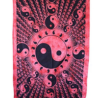 Handicrunch Hippie Mandala Tapestry, Wall Hanging, Home Decor Wall Hanging, Table Cloth Home Décor Bed Spread, Home Decor Wall Hanging, Large Table Runner Bed Cover Indian Art, Hippie Wall Hanging, Cotton Bed Sheet, Decor Art Wall Hanging