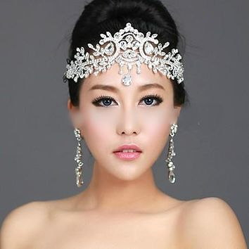 Bridal Hairbands Crystal Headbands Women Hair Jewelry