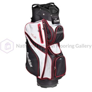 Tour Edge HL3 Golf Cart Bag Black/Silver/Red