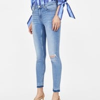 JEANS SKINNY CALIFORNIA CROWN BLUE DETAILS