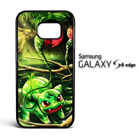 Pokemon Bulbasaur Y1358 Samsung Galaxy S6 Edge Case