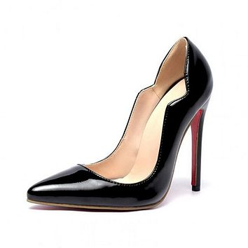Wedding shoes large size 35-46 women shoes High heel Ladys sexy stiletto High heels Party shoes woman pumps chaussure femme