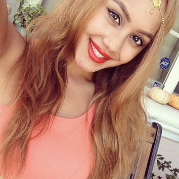 Gold Hair Chain, Gypsy Crown, Head Piece, Headdress