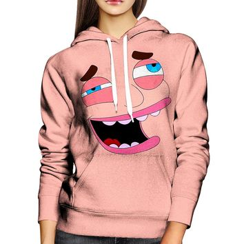 Big Mouth Nick Womens Hoodie