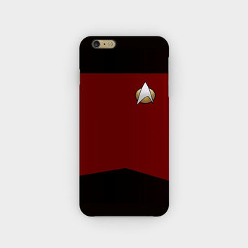 Star Trek TNG Uniform iPhone 6S / 6 Plus Case