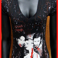DiY TRUE BLOOD Top Vampire Eric Bill Sookie You choose the size
