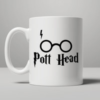Pott Head Harry Potter Mug Mug Mug, Tea Mug, Coffee Mug
