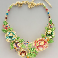 Fairies of Nightingale Statement Necklace