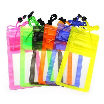 """Unique Travel Swimming Waterproof Bag Pouch Cover for 5.5 inch Cell Phone iPhone Samsung HTC Sony LG 5.5"""" Cool for you"""