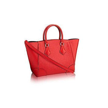 Tagre™ Authentic Louis Vuitton Epi Leather Phenix PM Bag Tote Handbag Article: M50807 Coqueli
