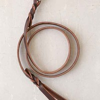 Forager Co. Braided Leather Dog Leash