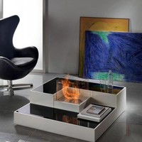 Modern Innovative Fireplaces Design, Horus Biocamino Furnishing - House Design, Architecture, Interior And Furniture on Interior Design Center